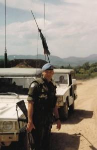 Bosnia Iltis Sqn Comd UNPROFOR 1994