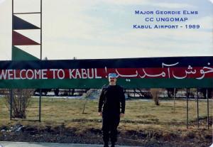 1988Maj G Elms Kabul AIrport