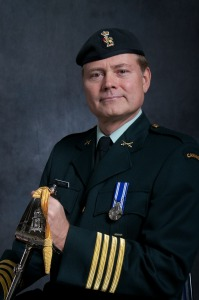 Royal Regiment of Canada change of Honourary Colonel Parade