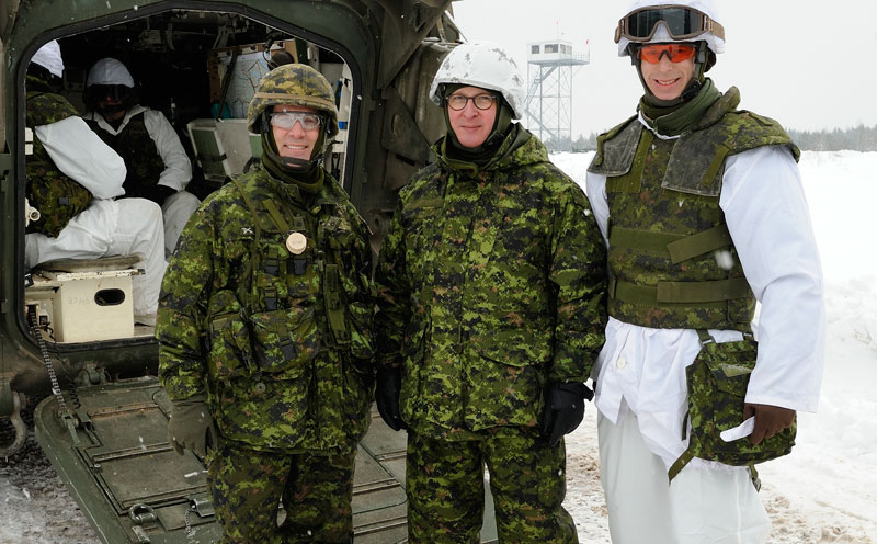 into The Royal Canadian Regiment (The RCR) and posted